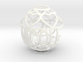 Nicole Lovaball in White Processed Versatile Plastic