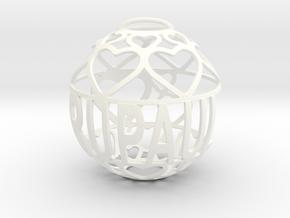 RuPaul Lovaball in White Processed Versatile Plastic