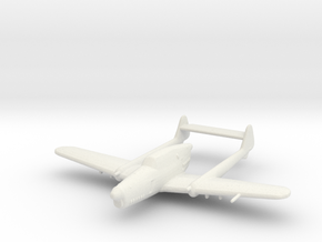 Fokker D.XXIII in White Strong & Flexible: 1:200