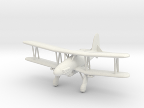 Fieseler Fi.167 (with ordnance) in White Natural Versatile Plastic: 1:200