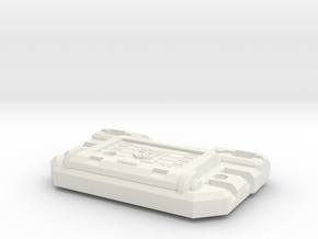 Cortex Chest For Combiner Police Cars in White Natural Versatile Plastic