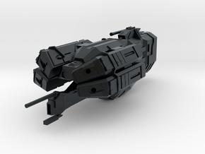 """Kushan """"Perdition"""" Missile Destroyer in Black Hi-Def Acrylate"""