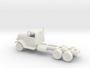 1/110 Scale Kenworth Tractor in White Strong & Flexible