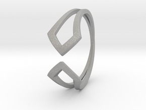 HIDDEN HEART Smooth, ring US size 10.5 , d=20,2mm in Aluminum: 10.5 / 62.75