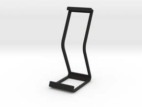 Ipad Stand V2 material saver in Black Natural Versatile Plastic