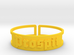 Prospit in Yellow Processed Versatile Plastic