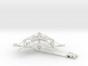 Sizzler - 1:220 / 1:160 / 1:87 in White Natural Versatile Plastic: 1:87