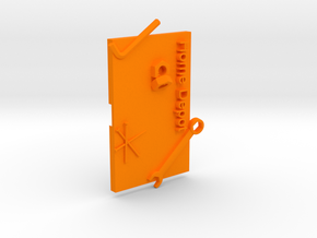 Home Depot Gift Card Holer in Orange Processed Versatile Plastic