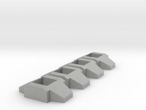 Titan Master Neck Adapter, Basic 4-pack in Metallic Plastic