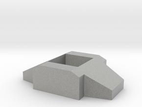 Titan Master Neck Adapter, Basic in Metallic Plastic
