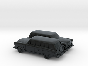 1/160 2X 1952 Ford Crestline Country Squire  in Black Hi-Def Acrylate