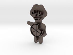 Keksstempel Winnie Figur 2 (30mm Breite) Small in Stainless Steel: Small