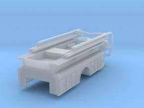 1/87 Snorkel Body (Short) no cabinet in Smooth Fine Detail Plastic