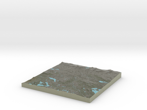 Terrafab generated model Fri Oct 28 2016 15:46:01  in Full Color Sandstone