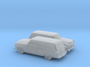 1/160 2X 1952 Ford Courier Sedan Delivery in Frosted Ultra Detail