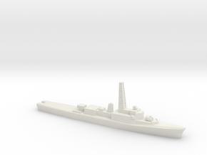 Restigouche-class DDE (DELEX), 1/1800 in White Natural Versatile Plastic