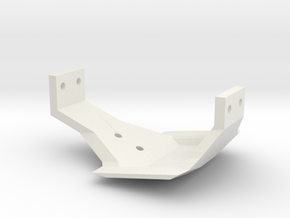 N2R Leaf Chassis Low Profile Skid for TF2 in Black Strong & Flexible