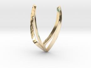 sWINGS Line, Pendant. Pure, Elegant.  in 14K Yellow Gold