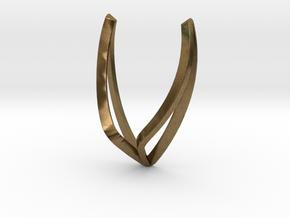 sWINGS Line, Pendant. Pure, Elegant.  in Natural Bronze