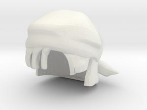 Custom Pan Inspired Hat for Lego in White Natural Versatile Plastic