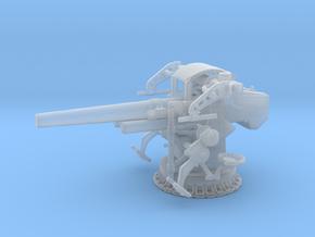 1/200 5 inch 25 Gun Mount Mk 40 in Smoothest Fine Detail Plastic