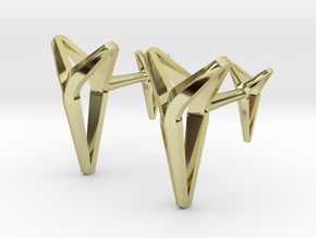 YOUNIVERSAL Cufflinks in 18K Gold Plated