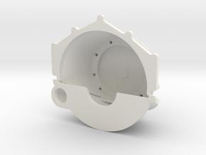 Chevrolet Bellhousing Generic Transmission 1/18 in White Natural Versatile Plastic
