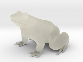 Frog, for acrylic plastic in Transparent Acrylic