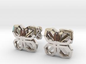 A-LINE CUFFLINX in Platinum