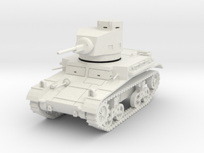 PV47 M2A4 Light Tank (1/48) in White Natural Versatile Plastic