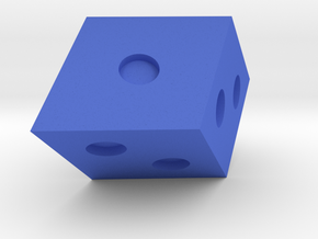 Rhombohedral D6 in Blue Strong & Flexible Polished