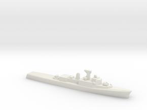 Restigouche-class DDE (1958), 1/2400 in White Natural Versatile Plastic