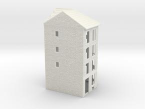 NVIM11 - City buildings in White Natural Versatile Plastic