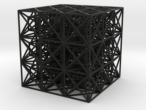 Zero Point Cube in Black Strong & Flexible