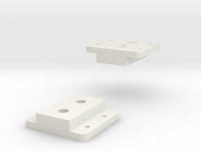 Base Load Cell in White Natural Versatile Plastic