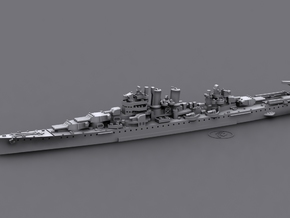 1/1800 USS Wichita[1942] (CA-45) in White Strong & Flexible