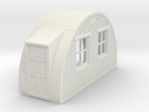 N-87-complete-nissen-hut-back-brick-2-doors-16-36- in White Natural Versatile Plastic