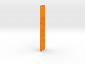 Targaryen Bookmark in Orange Processed Versatile Plastic: Medium