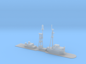1/500 Scale DLG-10 Deck  in Smooth Fine Detail Plastic