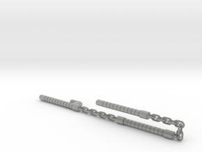 Electromagnetic Nunchaku, 3-Bars (Combiner Wars) in Metallic Plastic