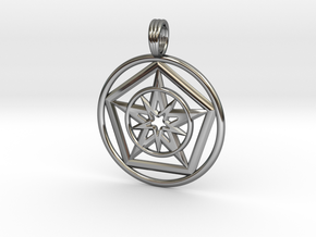 STARK ENERGY in Fine Detail Polished Silver