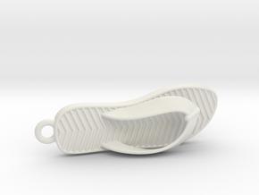 Slipper 1611041141 in White Natural Versatile Plastic