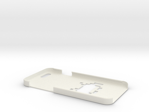 Space Invader iPhone 6 Case in White Strong & Flexible