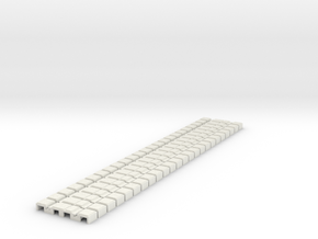 P-165stg-flexi-tram-track-100-g-x24-1a in White Strong & Flexible