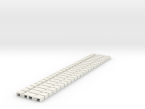 P-165stp-flexi-tram-track-100-pl-x24-1a in White Strong & Flexible