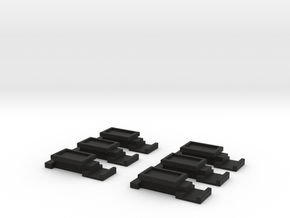 Battery Latch in Black Natural Versatile Plastic