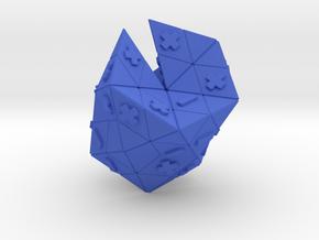 Deuteron in Blue Processed Versatile Plastic