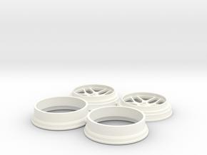 Billet Specialties Win Lite Front Spindle 1/18 in White Processed Versatile Plastic