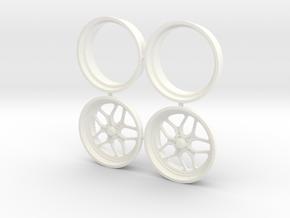 Billet Specialties Win Lite Front 1/18 in White Processed Versatile Plastic
