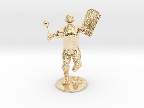 Goblin Miniature in 14K Yellow Gold: 1:60.96